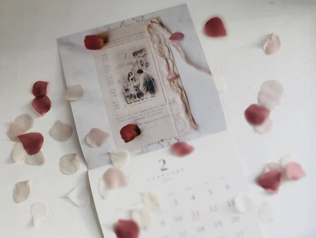 テレーズの薔薇の雨CALENDAR 2月