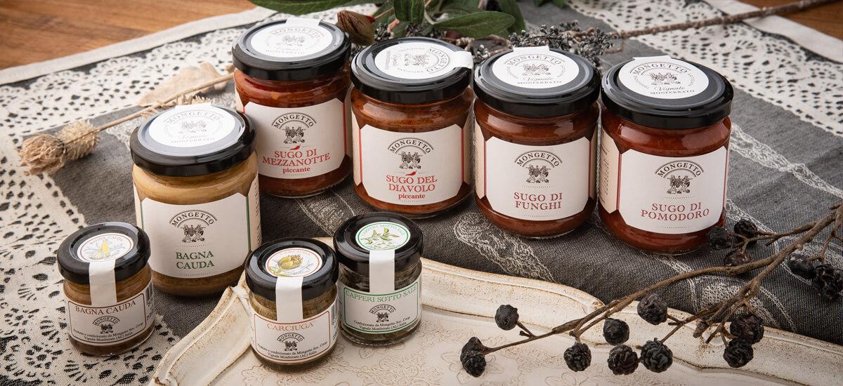 Il Mongetto イル・モンジェットのトマトソース、ケーパ、バーニャカウダ、カルシゥガソース