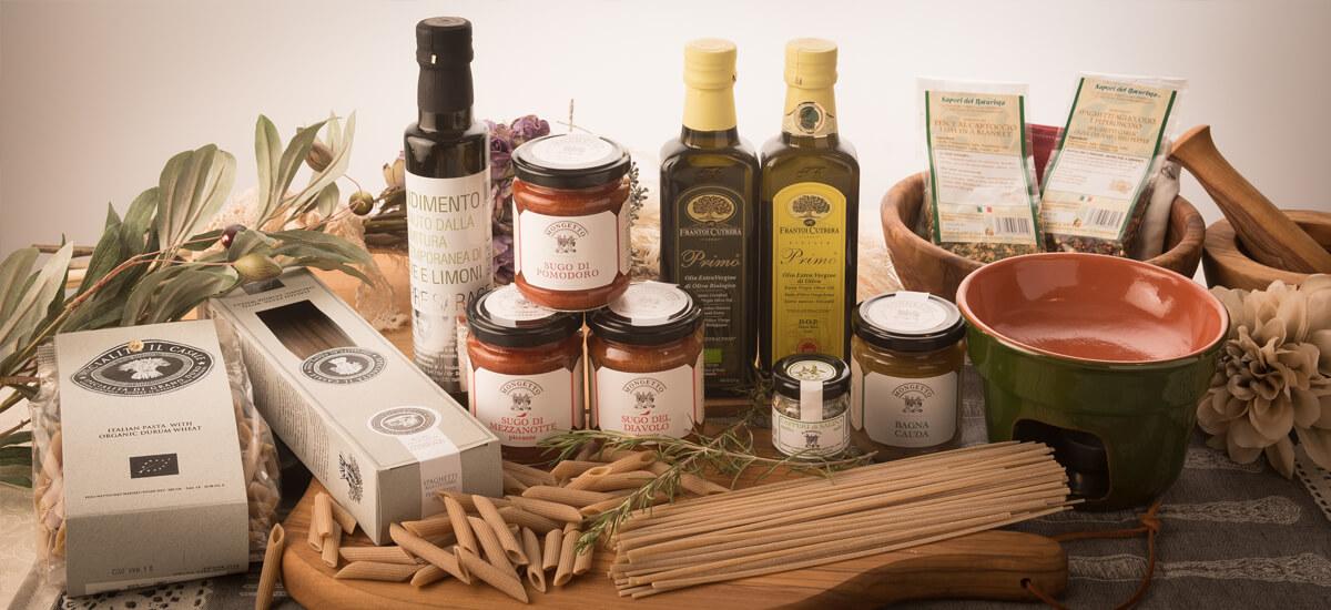 オーガニック、無農薬のイタリア食材も多く取り扱っています