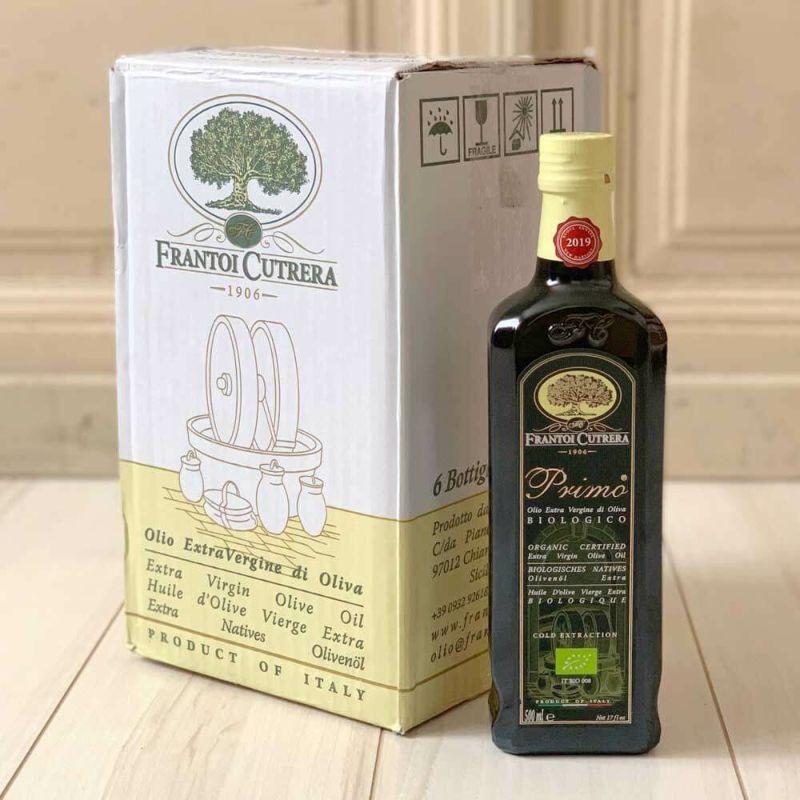 Frantoi Cutrera社EXVオリーブオイル「PRIMO BIO」500ml 6本set