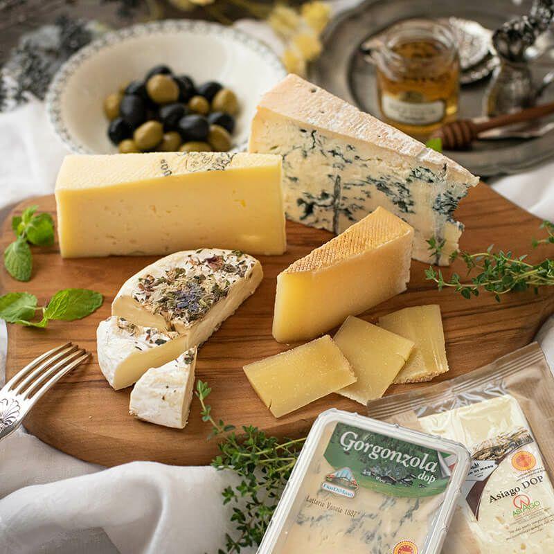 イタリアチーズのセット