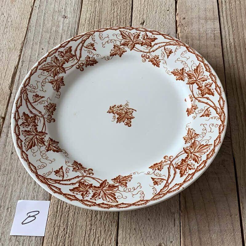 ロンウィー Bryonne ブドウ 平皿 22.5cm
