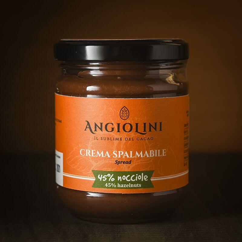 Angioliniアンジョリーニチョコレート スプレッド ヘーゼルナッツ 200g
