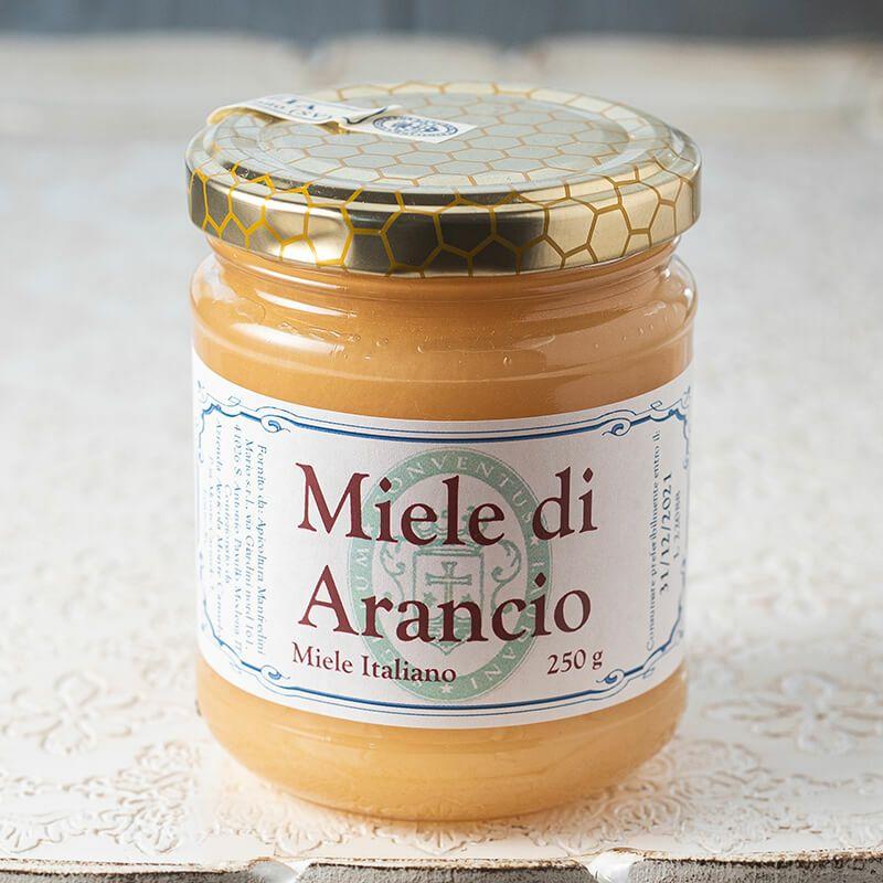 カルメル会 モンテ・カルメロ修道院 蜂蜜 オレンジ Miele di Arancio 250g