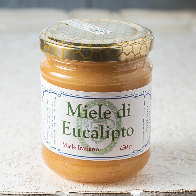 カルメル会 モンテ・カルメロ修道院 蜂蜜 ユーカリ Miele di Eucalipt 250g