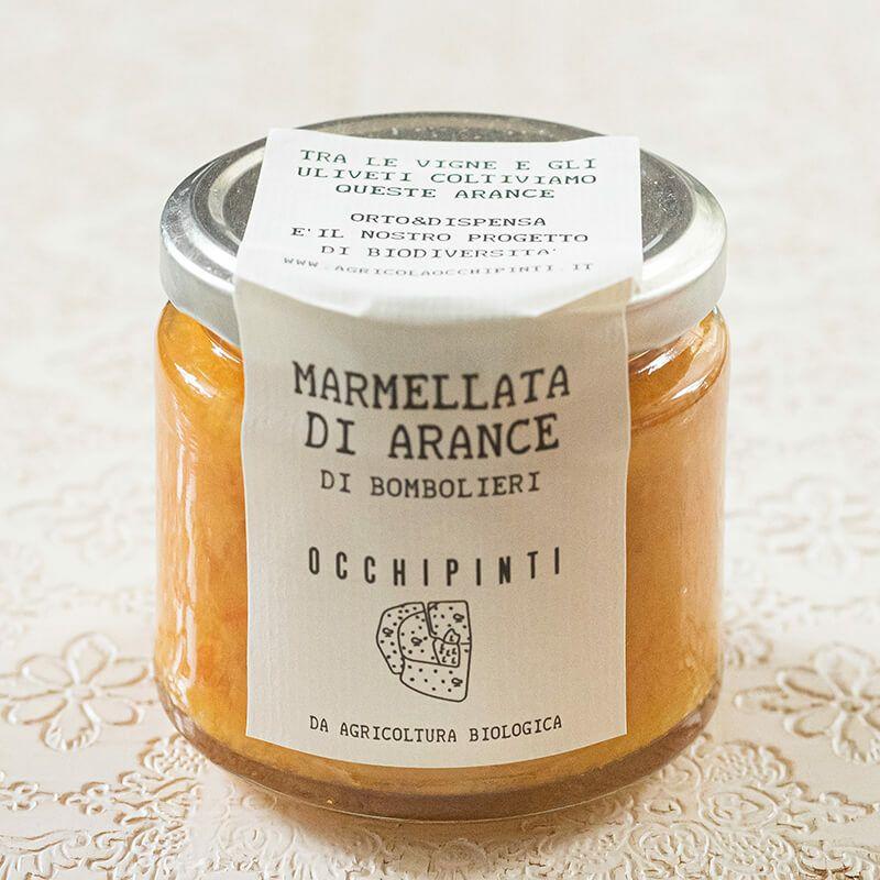 アリアンナ オッキピンティ マルメッラータ ディ アランチェ(オレンジのジャム) 220g